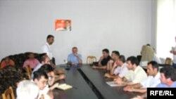 Redaktorlar Birliyinin iclası, 24 iyun 2006