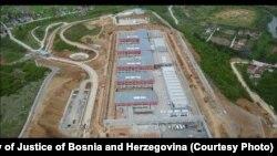 Vojkovći, BiH - pogled iz zraka na novoizgrađeni državni zatvor