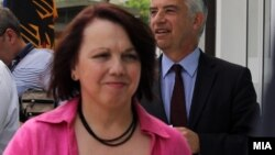 Германската амбасадорка во Скопје, Кристине Алтхаузер.