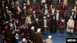 مجلس خبرگان رهبری وظیفه تعیین و احیاناً برکناری رهبر جمهوری اسلامی را بر عهده دارد.