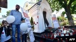 Акція до Дня пам'яті загиблих від СНІДу у Києві, 19 травня 2017