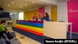 Organizatori beogradskog Prajda na konferenciji za novinare