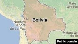 Боливия картасы.