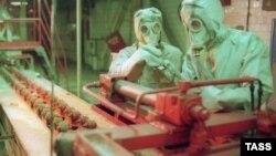 Завод по производству химического оружия в России. Архивное фото.