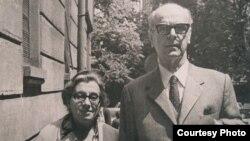 Meša Selimović sa suprugom Darkom