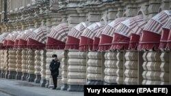 До кінця квітня у Росії діє режим неробочих днів