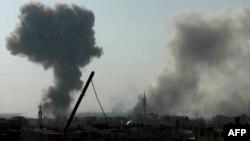 Напад на владините сили на Дамаск