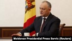 Президент Молдовы Игорь Додон (архив)