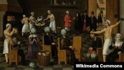 По фламандской легенде, люди, недовольные своим лицом, могли заказать пекарю из Экло новое. Для этого им отрубали голову и надевали на шею кочан капусты.