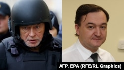 A tale of two treatments: Oleg Sokolov (left) and Sergei Magnitsky