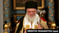 Поглаварот на Грчката православна црква, архиепископот Јеронимос