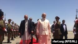 Hindistanyň premýer-ministri Narendra Modi Hyrat welaýatyna geldi.