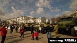 Виставка російського озброєння в Сімферополі, 27 березня 2019 року