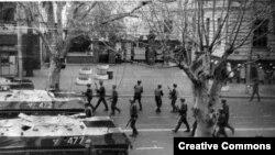 1989 წელი, საბჭოთა ჯარები თბილისში