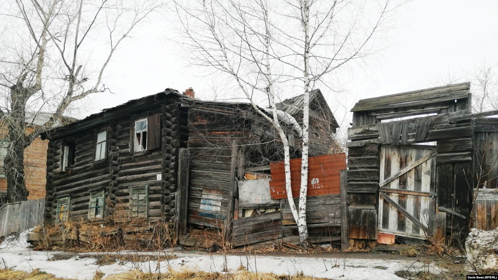 Самый старый деревянный дом в Томске. Улица Октябрьская, 71