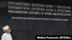 Ulaz u Parlamentarnu skupštinu Bosne i Hercegovine
