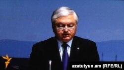 Министр иностранных дел Армении Эдвард Налбандян (архив)