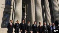 نشست وزیران اقتصادی هفت کشور ثروتمند جهان روز جمعه برگزار شد. عکس از :AFP