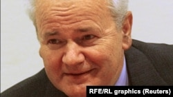 Бывший президент Югославии Слободан Милошевич.