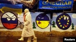 Несмотря на достигнутые в Москве договоренности, Майдан сдаваться не собирается