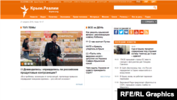 """Крым.Реалии"" вебсайты."