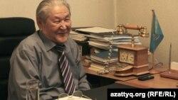Саясаткер, экономист-ғалым Серікболсын Әбділдин. Алматы, 19 қазан 2016 жыл.