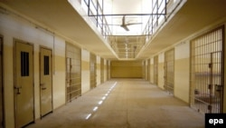 Iraq -- Interior of the Abu Ghraib prison west of Baghdad, September 16, 2003