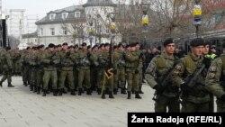 Parada Bezbednosnih snaga Kosova, Priština