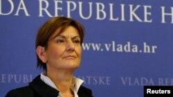 Martina Dalić, bivša ministrica i potpredsjednica Vlade