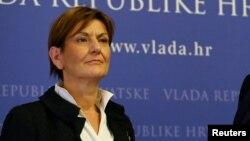 Хрватската министерка за економија Мартина Далиќ