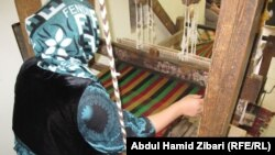 صناعة السجاد اليدوي في اربيل