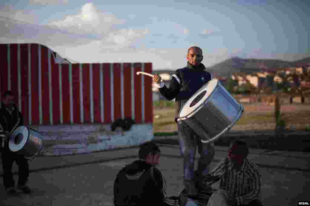 The Drummers Of Macedonia's Semka Band #13