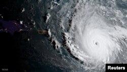 Ураган «Ірма» з космасу, 5 верасьня