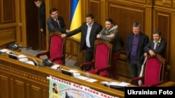 Блокування роботи Верховної Ради поновилося 2 квітня 2013 року