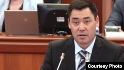 Садыр Жапаров, Қырғызстан парламентінің бұрынғы депутаты