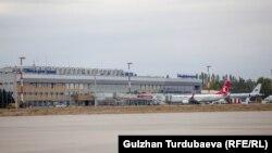 «Манас» аэропорту. Архивдик сүрөт.