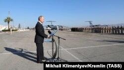 Presidenti rus, Vladimir Putin në Provincën Latakia, Siri, foto nga arkivi