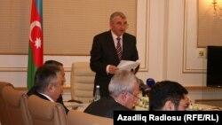 Mərkəzi Seçki Komissiyası, sədr Məzahir Pənahov, Bakı, 22 noyabr 2010