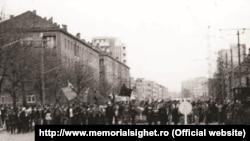 Imagine expusă la Memorialul Victimelor Comunismului de la Sighet.
