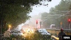 طوفان روز جمعه در تهران