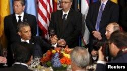 Офіційний сніданок в ООН, Нью-Йорк, 28 вересня 2015