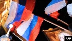 """Акция сторонников """"Единой России"""" в Москве 6 декабря"""