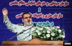Иран қарулы күштерінің жетекшісі, генерал Хасан Фирузабади.