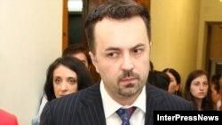 Дмитрий Шашкин, бывший министр обороны Грузии.