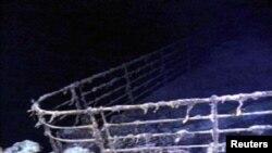 Ostaci Titanika na dnu mora