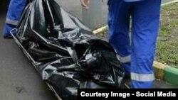 В районе Подмосковья, где были обнаружены обернутые в черные пластиковые пакеты тела таджикских мигрантов.