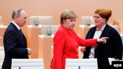 Хозяйка саммита Ангела Меркель
