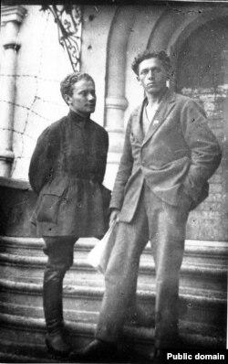 Анатоль Вольны і Міхась Чарот. 1925 год