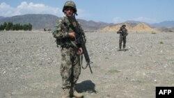 Илустрација: Авганистански војници.