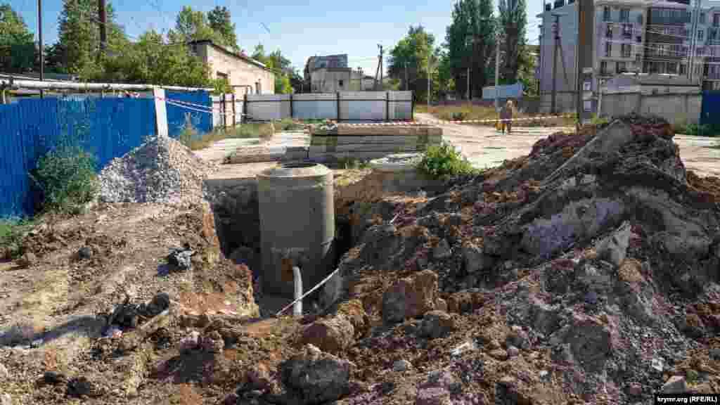 Проложенная в Богдановку ветка водопровода от городского водовода